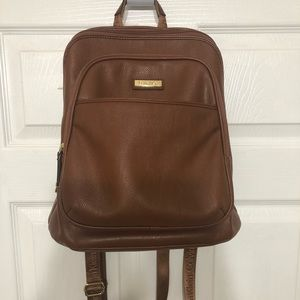 Calvin Klein brown backpack
